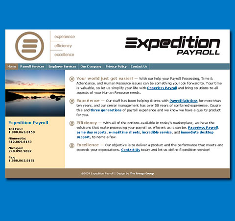 Expedition Payroll Website